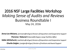 Business Practices Roundtable: Part I | 2016