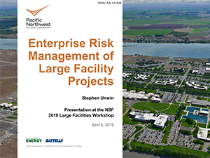 Enterprise Risk Management of Large Facility Projects   2019