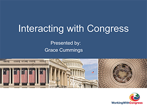 Interacting with Congress | 2019