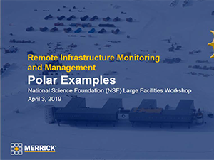 Lessons from Large Facilities in Remote Environments, Blaisdell | 2019