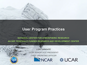 User Program Practices, Wingate | 2019